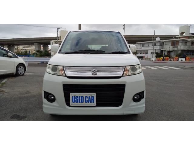 「スズキ」「ワゴンRスティングレー」「コンパクトカー」「沖縄県」の中古車3
