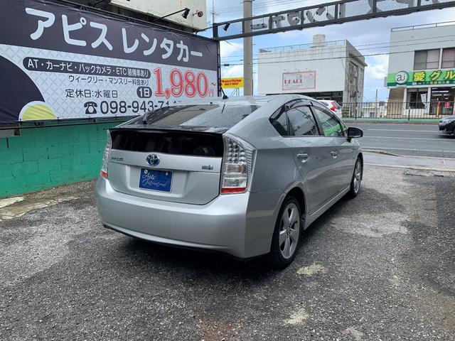 「トヨタ」「プリウス」「セダン」「沖縄県」の中古車5