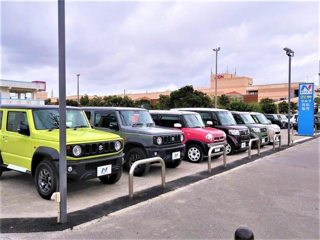 在庫車両は常時70台以上展示しています!人気の軽自動車からミニバン、SUVなど豊富な車種からお選び頂けます!!
