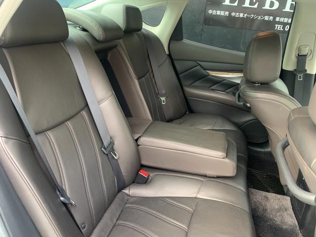 250GT プレミアムインテリアパッケージ 本革シート パワーシート オットマン HDD Bluetooth DVD コーナーセンサー シートヒーター シートクーラー メモリーシート クルーズコントロール(12枚目)