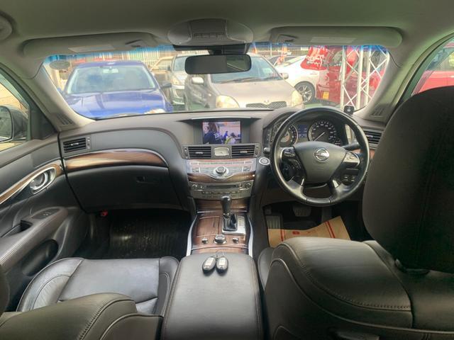 250GT プレミアムインテリアパッケージ 本革シート パワーシート オットマン HDD Bluetooth DVD コーナーセンサー シートヒーター シートクーラー メモリーシート クルーズコントロール(13枚目)