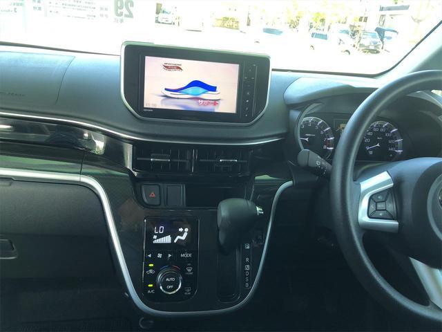 カスタム Xリミテッド SAIII 本土仕入れ プッシュスタート スマートキー アイドリングストップ SDナビ バックカメラ フルセグTV Bluetoothオーディオ シートヒーター ETC(11枚目)