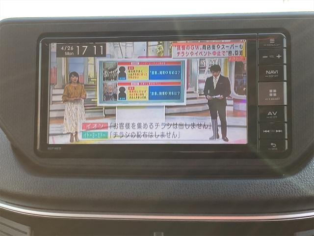 カスタムRS スマートアシスト ★特選車★ 最上級グレード ナビ Bluetooth DVD フルセグTV ステアリングスイッチ バックカメラ ツートンカラー 4WD ターボ(8枚目)