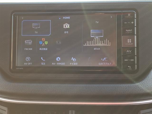 カスタムRS スマートアシスト ★特選車★ 最上級グレード ナビ Bluetooth DVD フルセグTV ステアリングスイッチ バックカメラ ツートンカラー 4WD ターボ(10枚目)