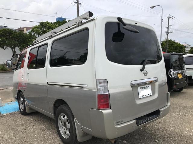 ロングDX ガソリン ルーフキャリア 社外アルミ 4ナンバー登録(6枚目)