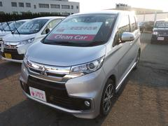 eKカスタムTセーフティパッケージ 4WD  三菱認定UCARプレミアム