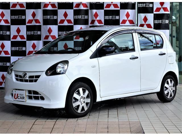 沖縄の中古車 ダイハツ ミライース 車両価格 29.8万円 リ済別 平成23年 4.0万km ホワイト