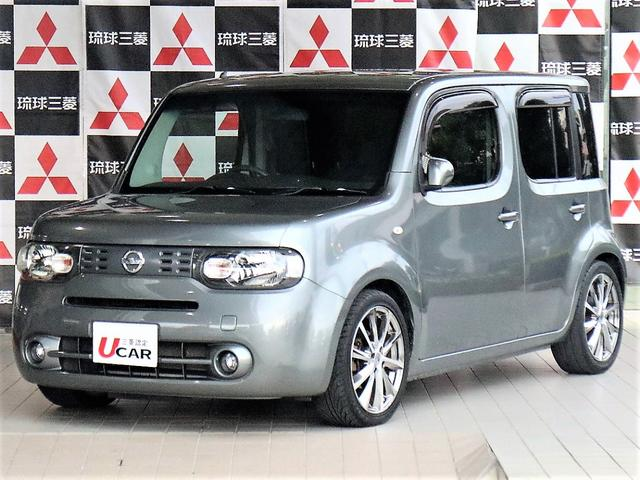 沖縄の中古車 日産 キューブ 車両価格 49.8万円 リ済別 平成23年 5.9万km グレー