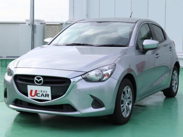 沖縄の中古車 マツダ デミオ 車両価格 99.8万円 リ済別 平成27年 2.6万km シルバー