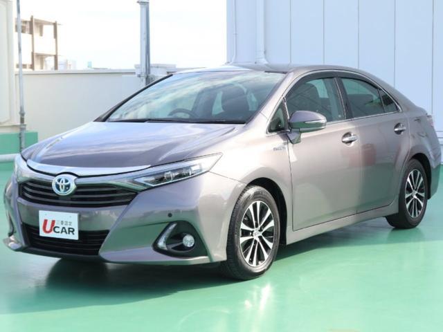 沖縄県の中古車ならSAI S 内地仕入 社外ナビTV LEDヘッド クリアランスソナー