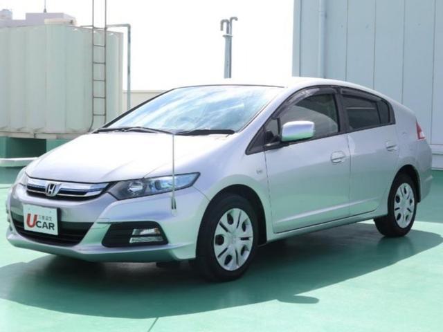 沖縄の中古車 ホンダ インサイト 車両価格 79.8万円 リ済別 平成25年 5.4万km シルバーM
