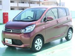 沖縄の中古車 三菱 eKワゴン 車両価格 59.8万円 リ済別 平成25年 4.2万K レッドII