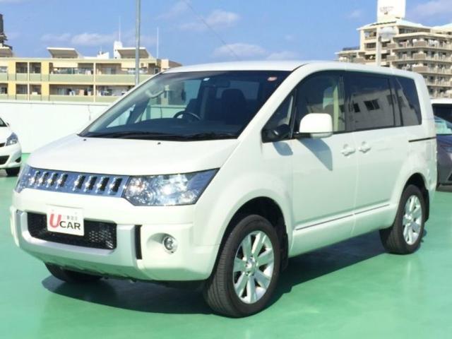 沖縄県の中古車ならデリカD:5 D パワーパッケージ 両側パワスラ SDナビ 8100km