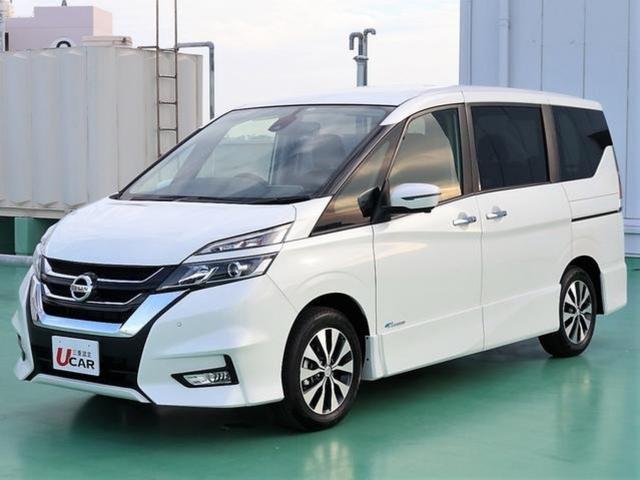 沖縄県の中古車ならセレナ ハイウェイスター Vセレクション 登録済未使用車 新車保証