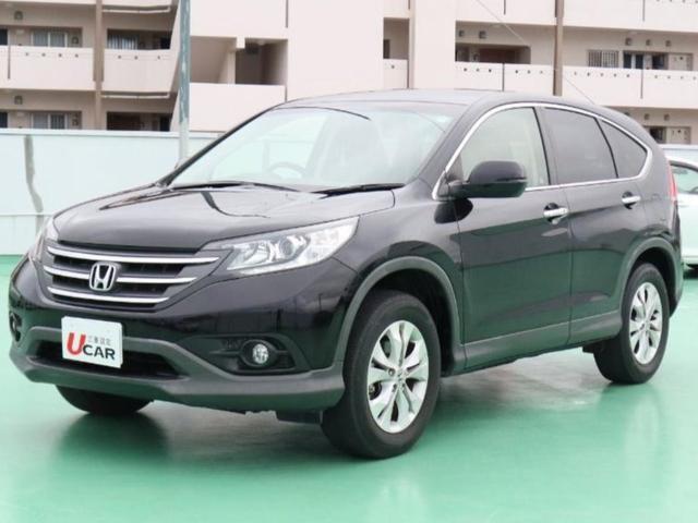 沖縄の中古車 ホンダ CR-V 車両価格 149.8万円 リ済別 平成24年 5.1万km ブラック