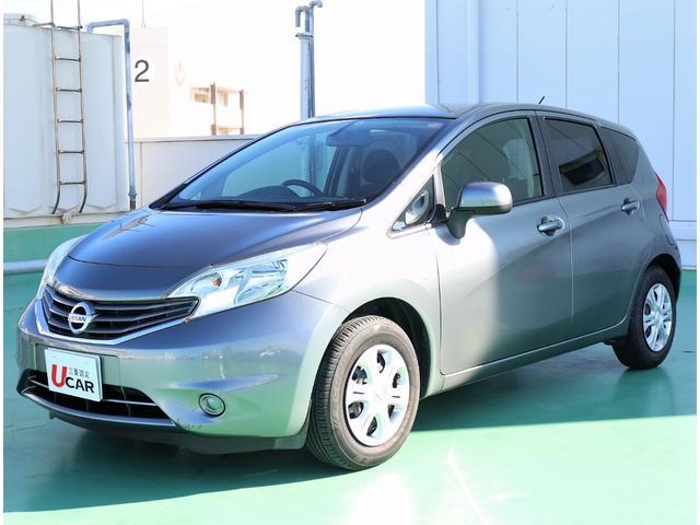 沖縄の中古車 日産 ノート 車両価格 79.8万円 リ済別 平成24年 2.8万km グレー