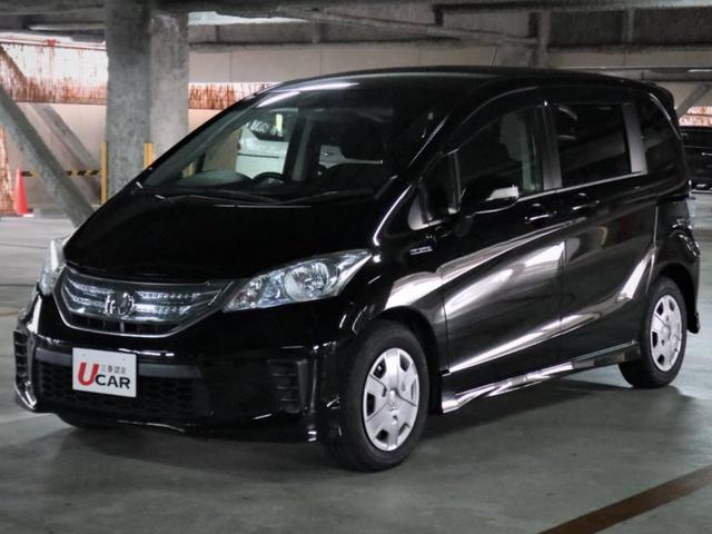 沖縄県の中古車ならフリードハイブリッド ジャストセレクション 内地仕入 ワンオーナー ナビフルセグ