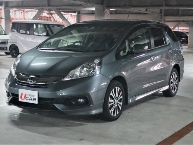 沖縄県の中古車ならフィットシャトルハイブリッド ハイブリッド・スマートセレクション 内地仕入 ワンオーナー車