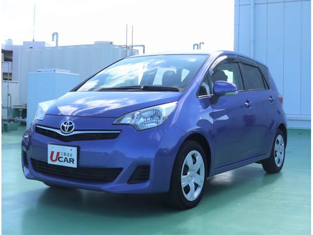 沖縄の中古車 トヨタ ラクティス 車両価格 79.8万円 リ済別 平成25年 4.5万km ブルー