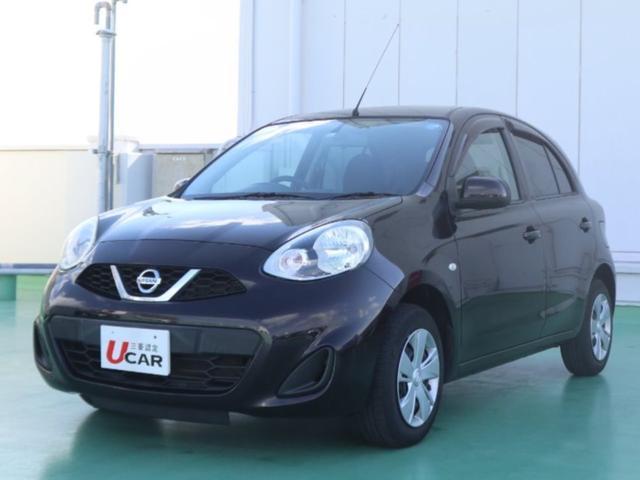 沖縄の中古車 日産 マーチ 車両価格 74.8万円 リ済別 平成26年 1.8万km ブラウン