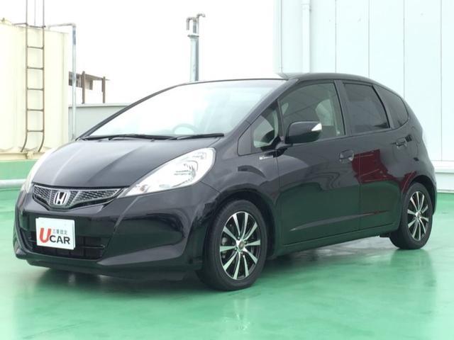 沖縄の中古車 ホンダ フィット 車両価格 69.8万円 リ済別 平成24年 4.2万km ブラック