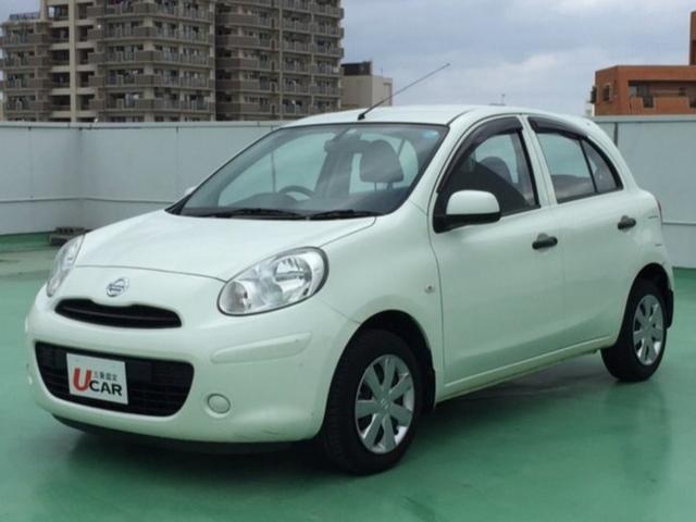 沖縄の中古車 日産 マーチ 車両価格 49.8万円 リ済別 平成24年 5.0万km パール