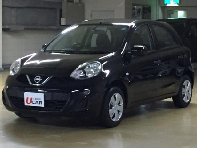 沖縄の中古車 日産 マーチ 車両価格 49.8万円 リ済別 2016(平成28)年 3.5万km ブラック