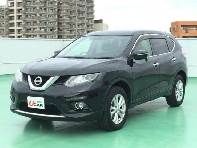 沖縄の中古車 日産 エクストレイル 車両価格 179.8万円 リ済別 平成26年 5.5万km ブラック