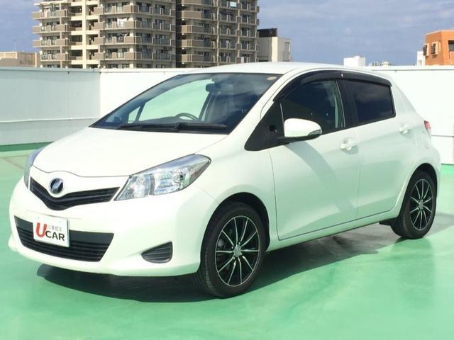 沖縄の中古車 トヨタ ヴィッツ 車両価格 79.8万円 リ済別 平成26年 5.0万km パール