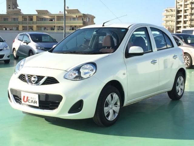 沖縄の中古車 日産 マーチ 車両価格 79.8万円 リ済別 平成28年 6.0万km パール
