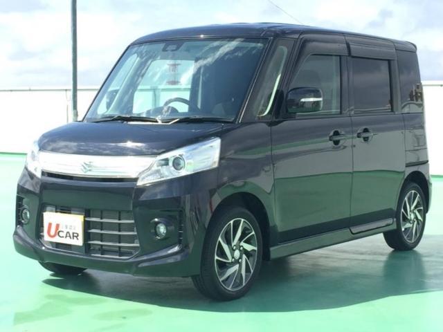 沖縄県の中古車ならスペーシアカスタム TS ターボ車 レーダーブレーキサポート装着車 内地仕入