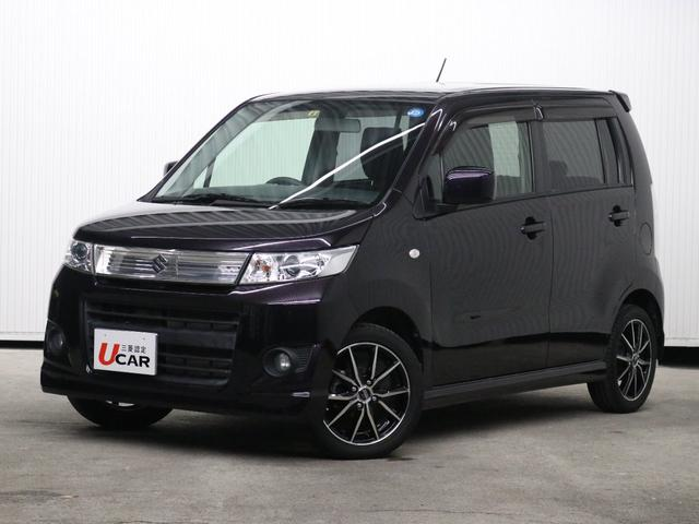 沖縄の中古車 スズキ ワゴンRスティングレー 車両価格 74.8万円 リ済別 平成24年 2.3万km パープル