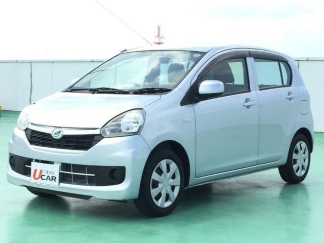 沖縄の中古車 ダイハツ ミライース 車両価格 54.8万円 リ済別 平成26年 3.8万km シルバー