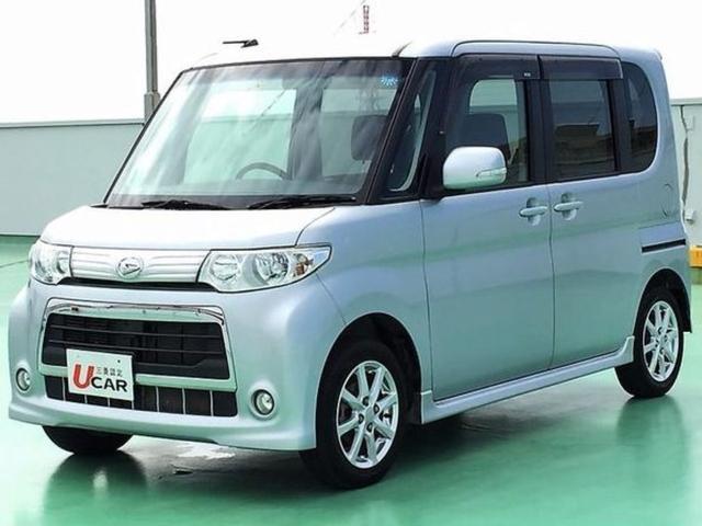 沖縄の中古車 ダイハツ タント 車両価格 69.8万円 リ済別 2012(平成24)年 3.8万km シルバー