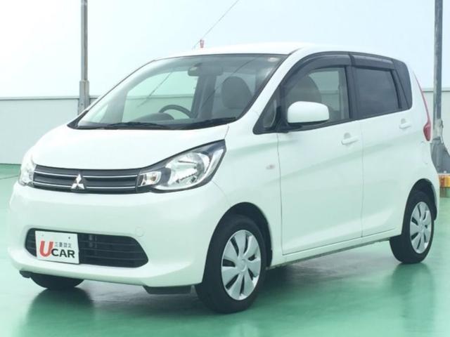 沖縄の中古車 三菱 eKワゴン 車両価格 69.8万円 リ済別 平成26年 5.2万km パール