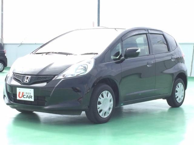 沖縄の中古車 ホンダ フィット 車両価格 74.8万円 リ済別 2012(平成24)年 2.9万km ブラック