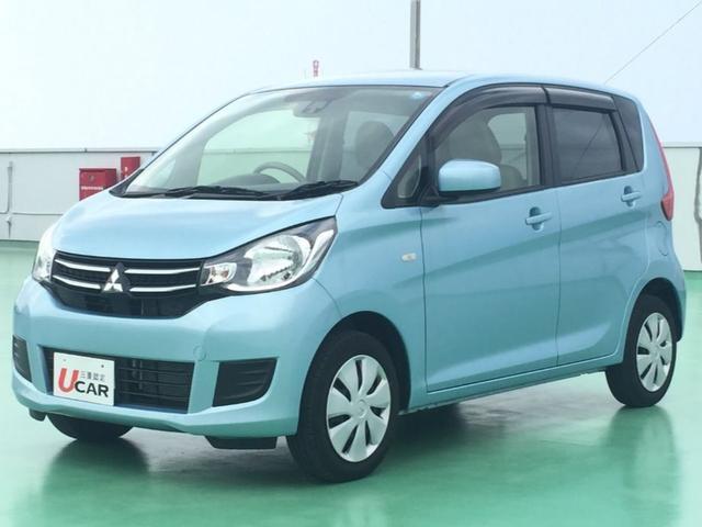 沖縄県浦添市の中古車ならeKワゴン M e-アシスト 内地仕入 外ナビ TV シートヒーター