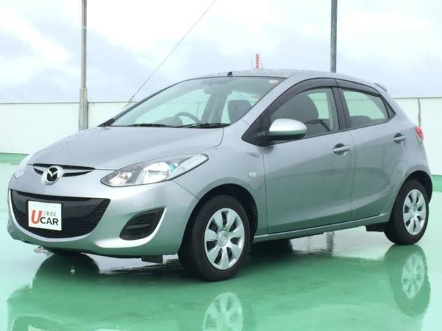 沖縄の中古車 マツダ デミオ 車両価格 64.8万円 リ済別 平成25年 4.0万km グレー