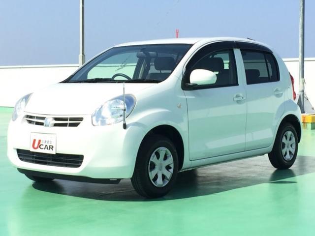 沖縄の中古車 トヨタ パッソ 車両価格 59.8万円 リ済別 平成25年 3.2万km ホワイト