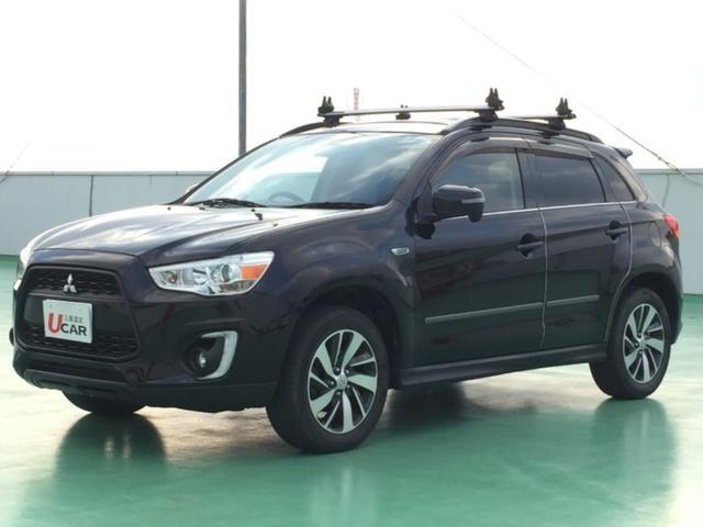 沖縄県の中古車ならRVR G 4WD ユーザー買取車 ルーフキャリア TV Bカメラ