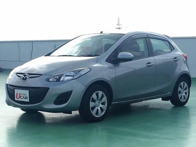 沖縄の中古車 マツダ デミオ 車両価格 69.8万円 リ済別 平成25年 1.4万km シルバーM