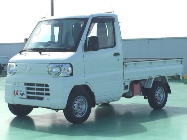 沖縄県名護市の中古車ならミニキャブトラック Vタイプ 内地仕入 走行12770 取説 保証書 記録簿有