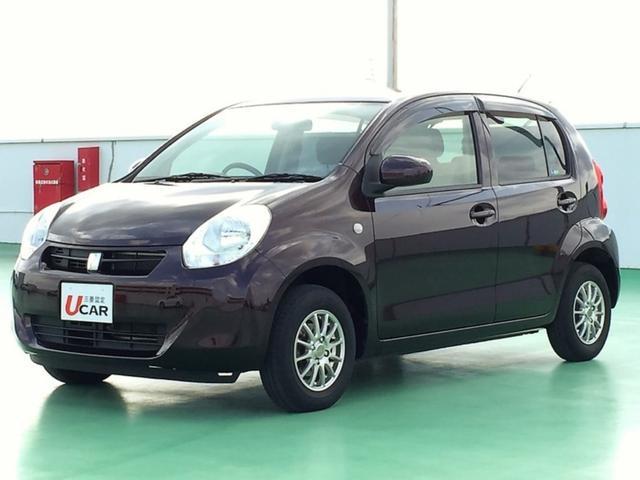 沖縄の中古車 トヨタ パッソ 車両価格 65.8万円 リ済別 平成26年 5.5万km ブラウンM