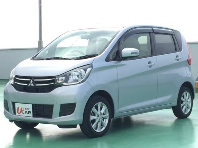 沖縄の中古車 三菱 eKワゴン 車両価格 79.8万円 リ済別 2015(平成27)年 3.3万km シルバーM