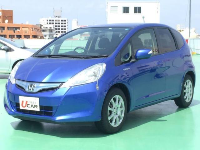 沖縄の中古車 ホンダ フィットハイブリッド 車両価格 69.8万円 リ済別 2012(平成24)年 5.5万km ブルーM