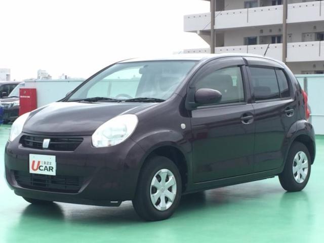 沖縄県の中古車ならパッソ X クツロギ 内地仕入 純ナビ スマートキー バックカメラ