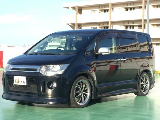 沖縄県の中古車ならデリカD:5 ローデスト G-PKG 内地仕入 両側パワスラ 外19AW