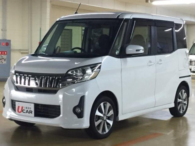 沖縄県の中古車ならeKスペースカスタム カスタムT 内地仕入 ターボ車 両側電動スライド Bカメラ