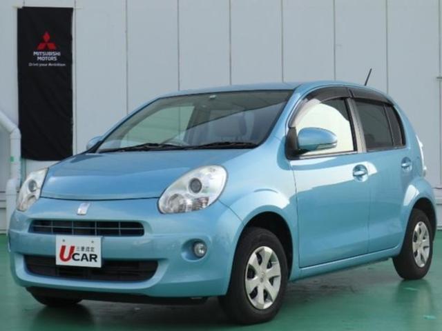 沖縄の中古車 トヨタ パッソ 車両価格 49.8万円 リ済別 2012(平成24)年 5.1万km ライトブルー