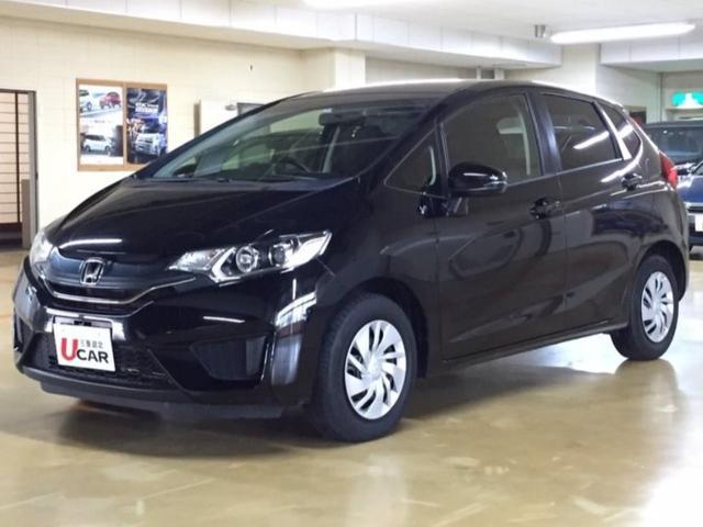 沖縄の中古車 ホンダ フィット 車両価格 79.8万円 リ済別 2014(平成26)年 4.9万km ブラック